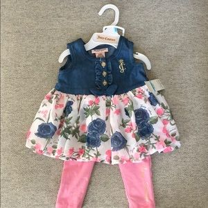 Juicy Couture Dress and Pant Set